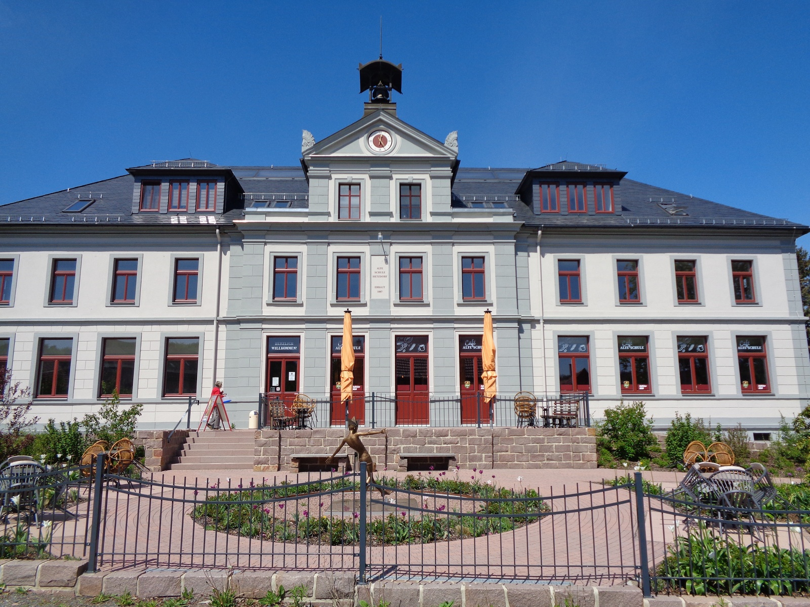 Cafe in der Alten Schule in Hetzdorf